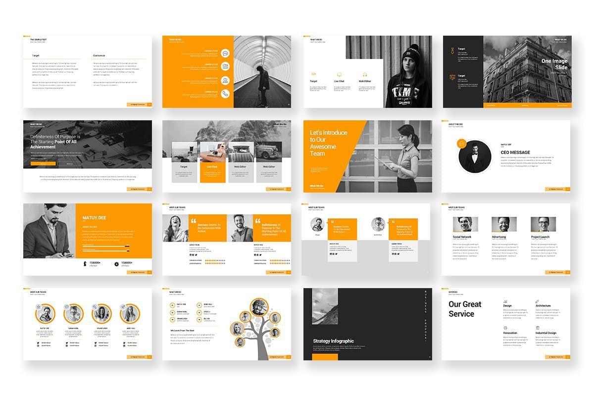 Business Proposal PowerPoint Template, Slide 3, 06901, Business Models — PoweredTemplate.com