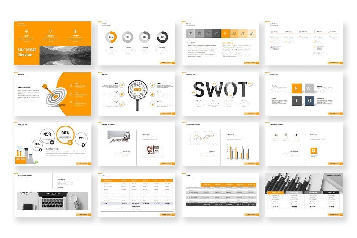 Business Proposal PowerPoint Template, Slide 4, 06901, Business Models — PoweredTemplate.com