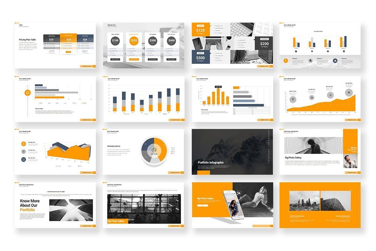 Business Proposal PowerPoint Template, Slide 5, 06901, Business Models — PoweredTemplate.com
