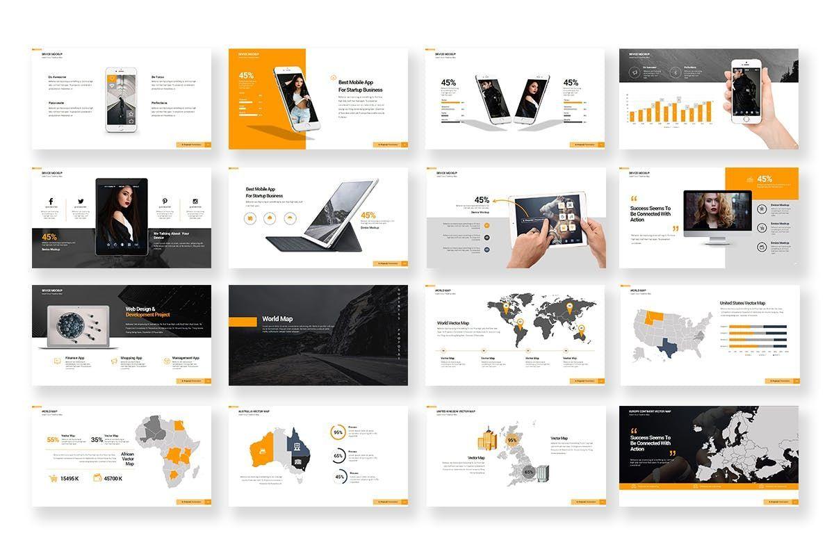 Business Proposal PowerPoint Template, Slide 7, 06901, Business Models — PoweredTemplate.com