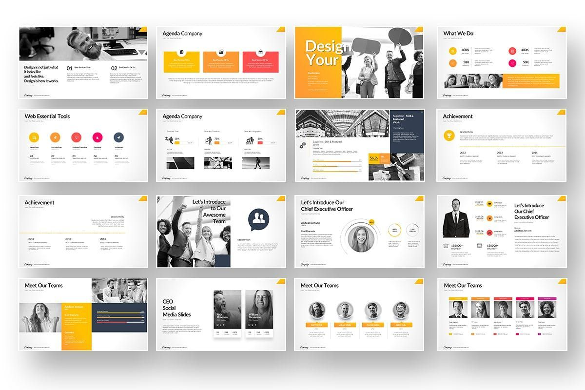 Company Market Powerpoint Presentation, Slide 3, 06903, Business Models — PoweredTemplate.com