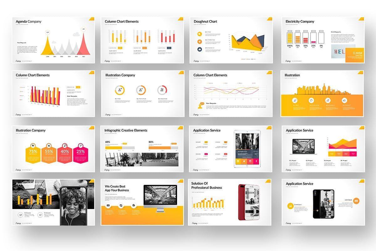 Company Market Powerpoint Presentation, Slide 5, 06903, Business Models — PoweredTemplate.com