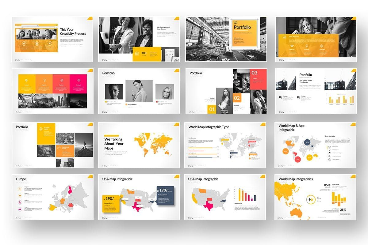 Company Market Powerpoint Presentation, Slide 6, 06903, Business Models — PoweredTemplate.com