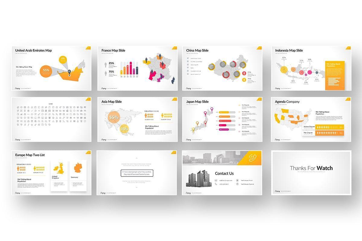 Company Market Powerpoint Presentation, Slide 7, 06903, Business Models — PoweredTemplate.com