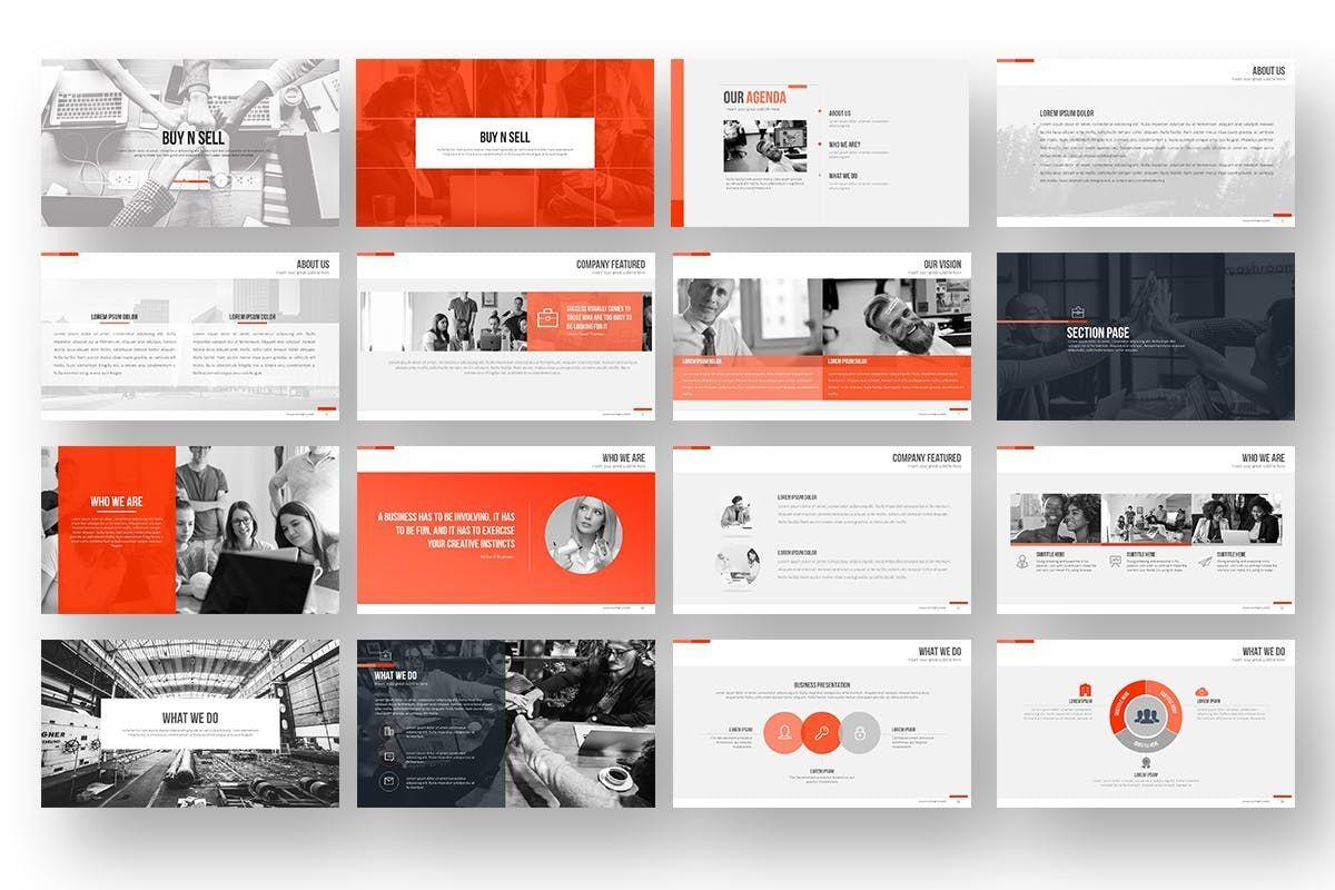 Buy N Sell PowerPoint Presentation, Slide 2, 06905, Business Models — PoweredTemplate.com