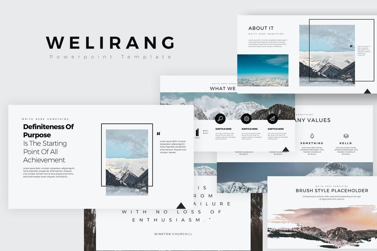 Welirang Powerpoint Presentation, 06906, Business Models — PoweredTemplate.com