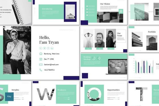 Presentation Templates: CaiHop - Keynote Template #06909