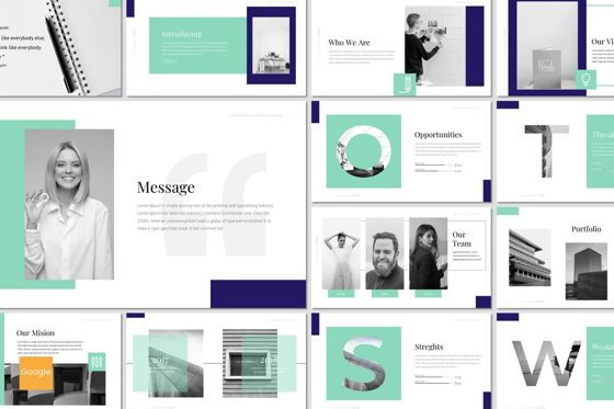 Presentation Templates: CaiHop - Google Slides Template #06910
