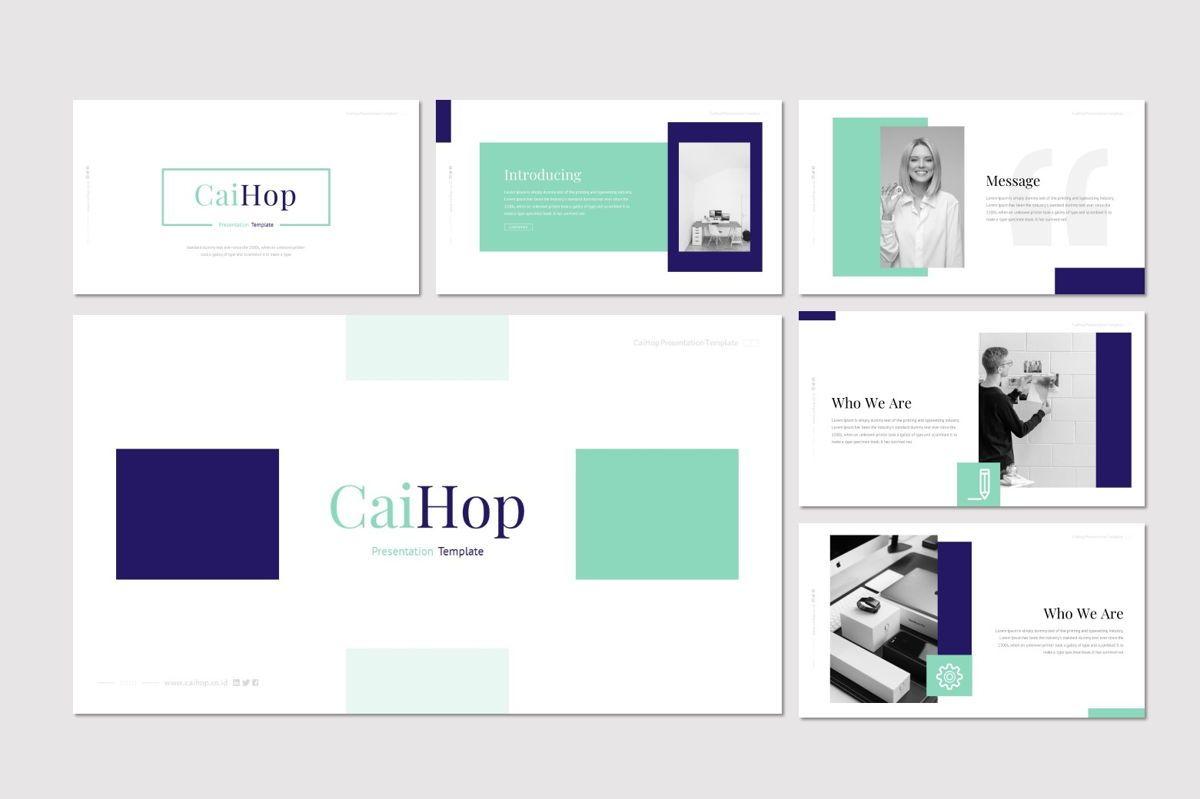 CaiHop - Google Slides Template, Slide 2, 06910, Presentation Templates — PoweredTemplate.com