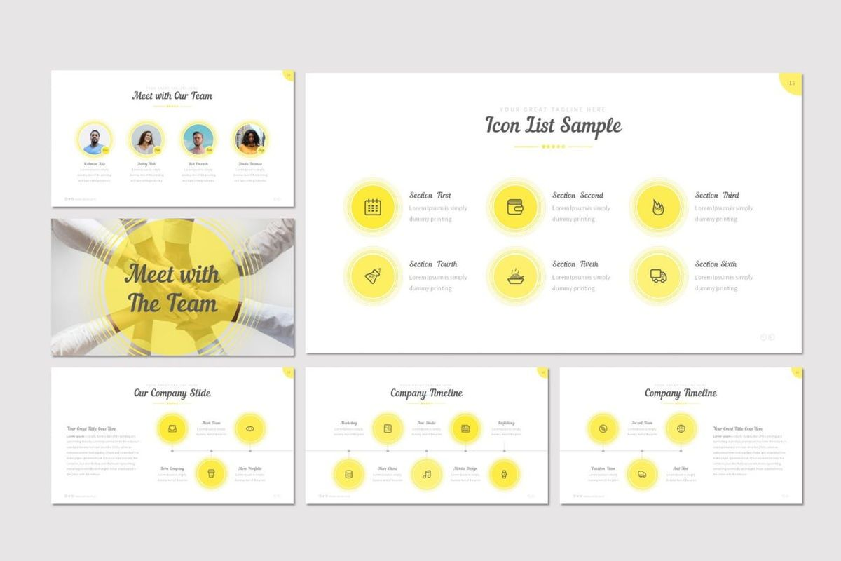 Cercla - PowerPoint Template, Slide 3, 06911, Presentation Templates — PoweredTemplate.com