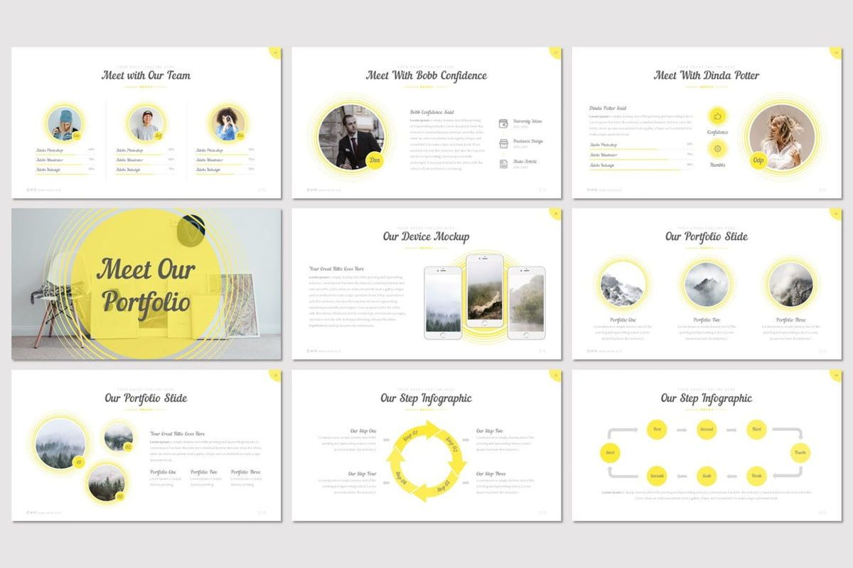 Cercla - PowerPoint Template, Slide 4, 06911, Presentation Templates — PoweredTemplate.com