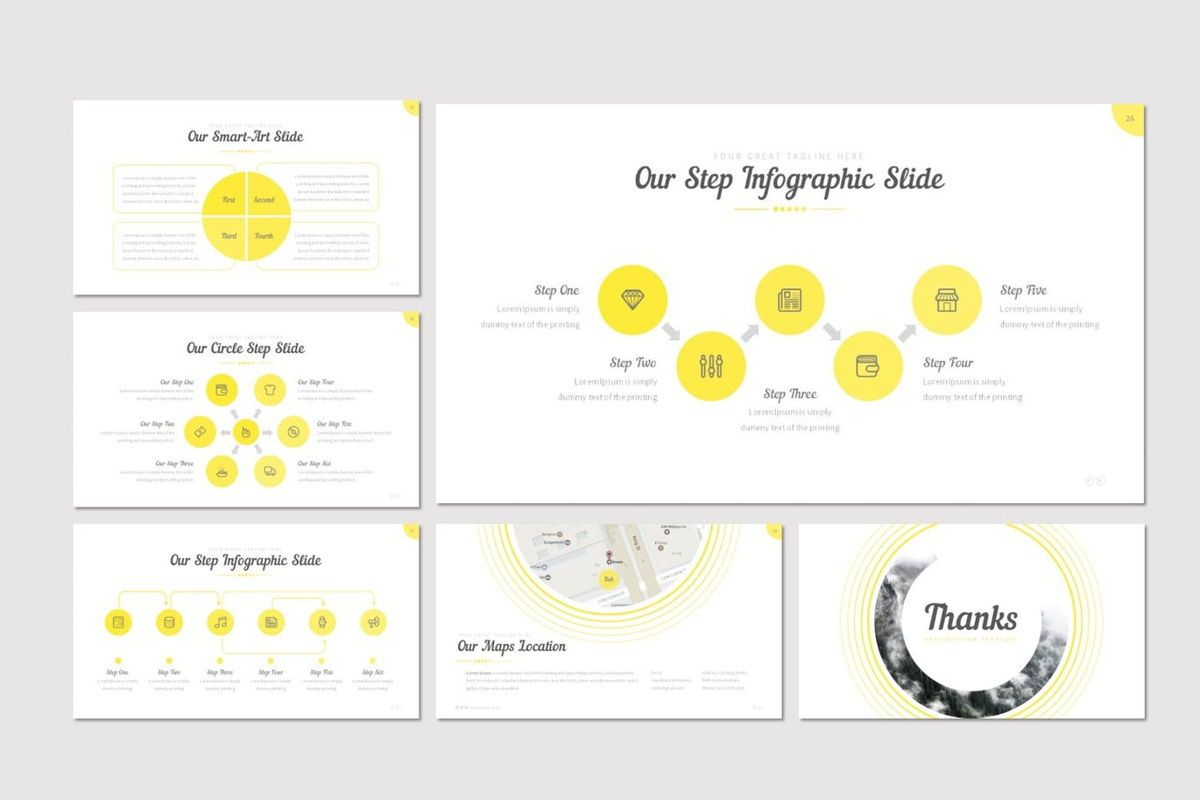 Cercla - PowerPoint Template, Slide 5, 06911, Presentation Templates — PoweredTemplate.com
