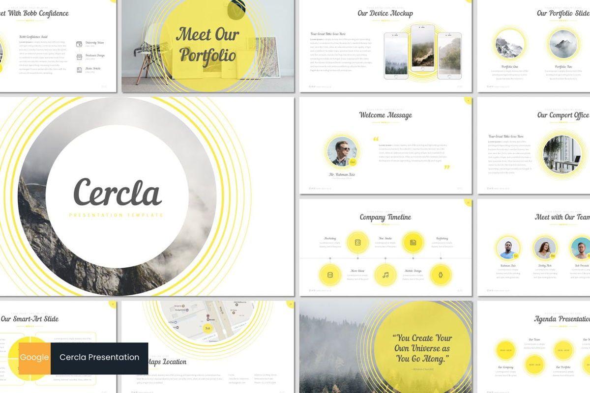 Cercla - Google Slides Template, 06912, Presentation Templates — PoweredTemplate.com