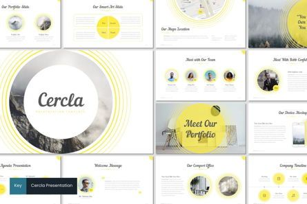 Presentation Templates: Cercla - Keynote Template #06913