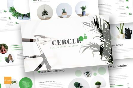 Presentation Templates: Cercle - Google Slides Template #06915