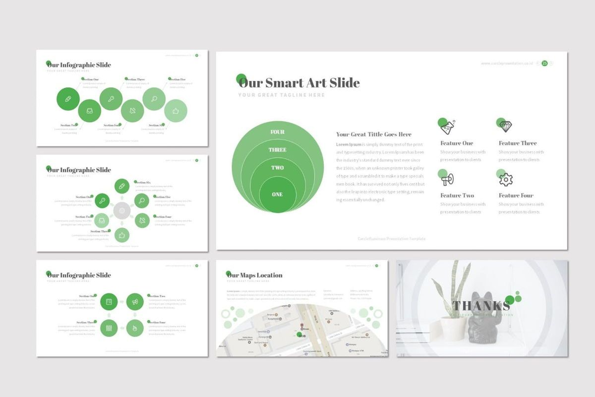 Cercle - Google Slides Template, Slide 5, 06915, Presentation Templates — PoweredTemplate.com
