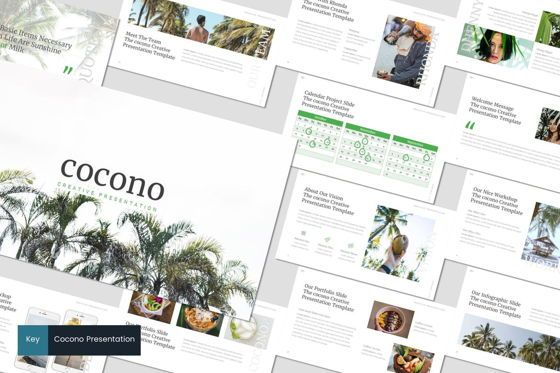 Presentation Templates: Cocono - Keynote Template #06920