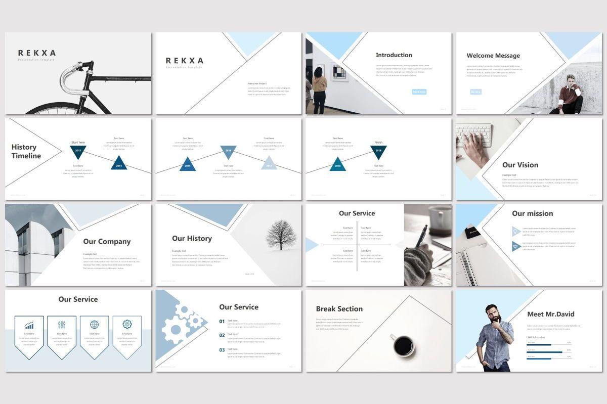 Rekxa - PowerPoint Template, Slide 2, 06923, Infographics — PoweredTemplate.com