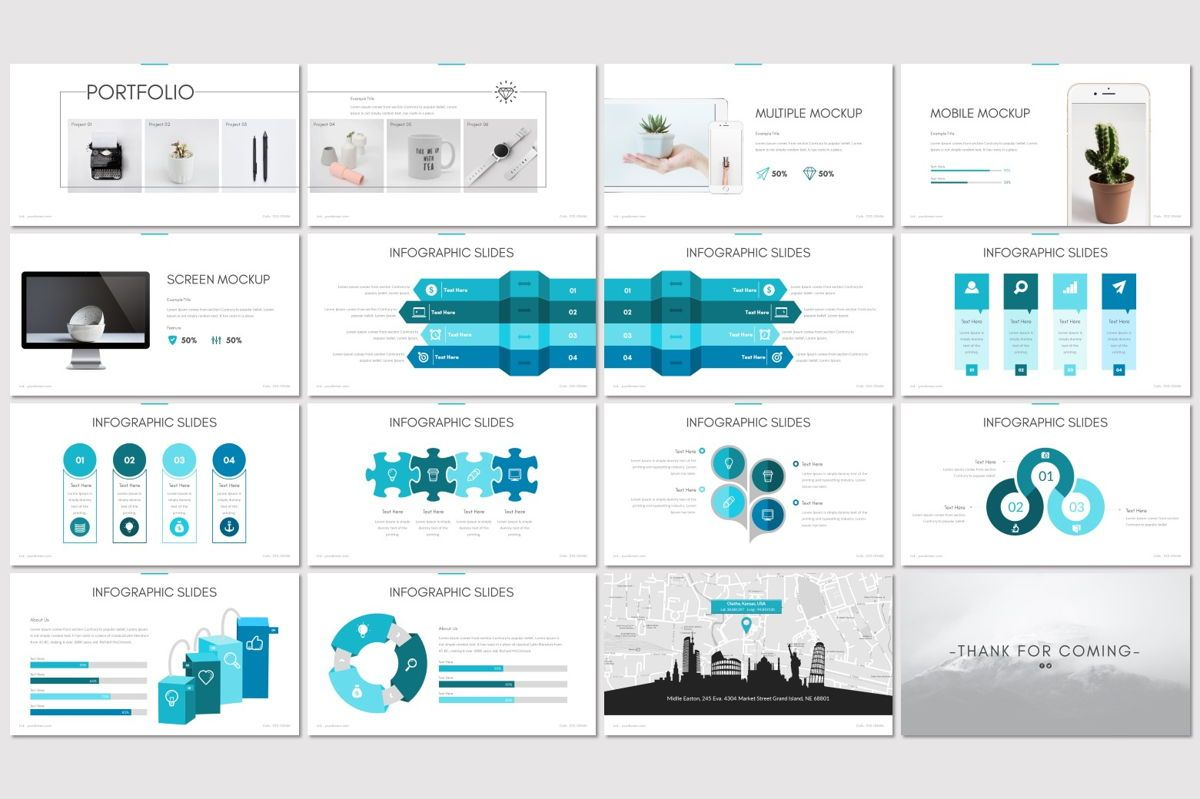 Pune - PowerPoint Template, Slide 3, 06925, Presentation Templates — PoweredTemplate.com