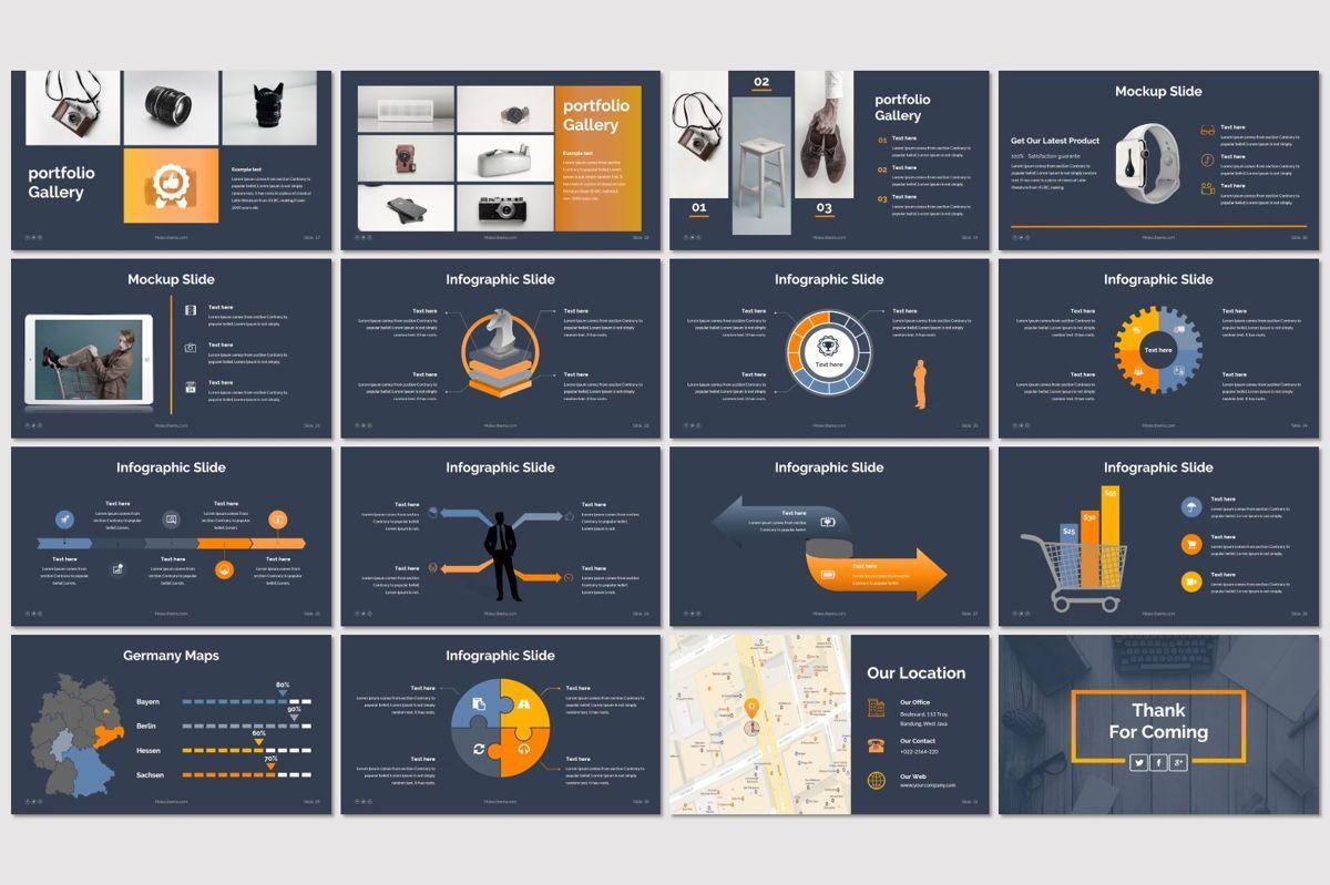 Molex - PowerPoint Template, Slide 3, 06927, Presentation Templates — PoweredTemplate.com