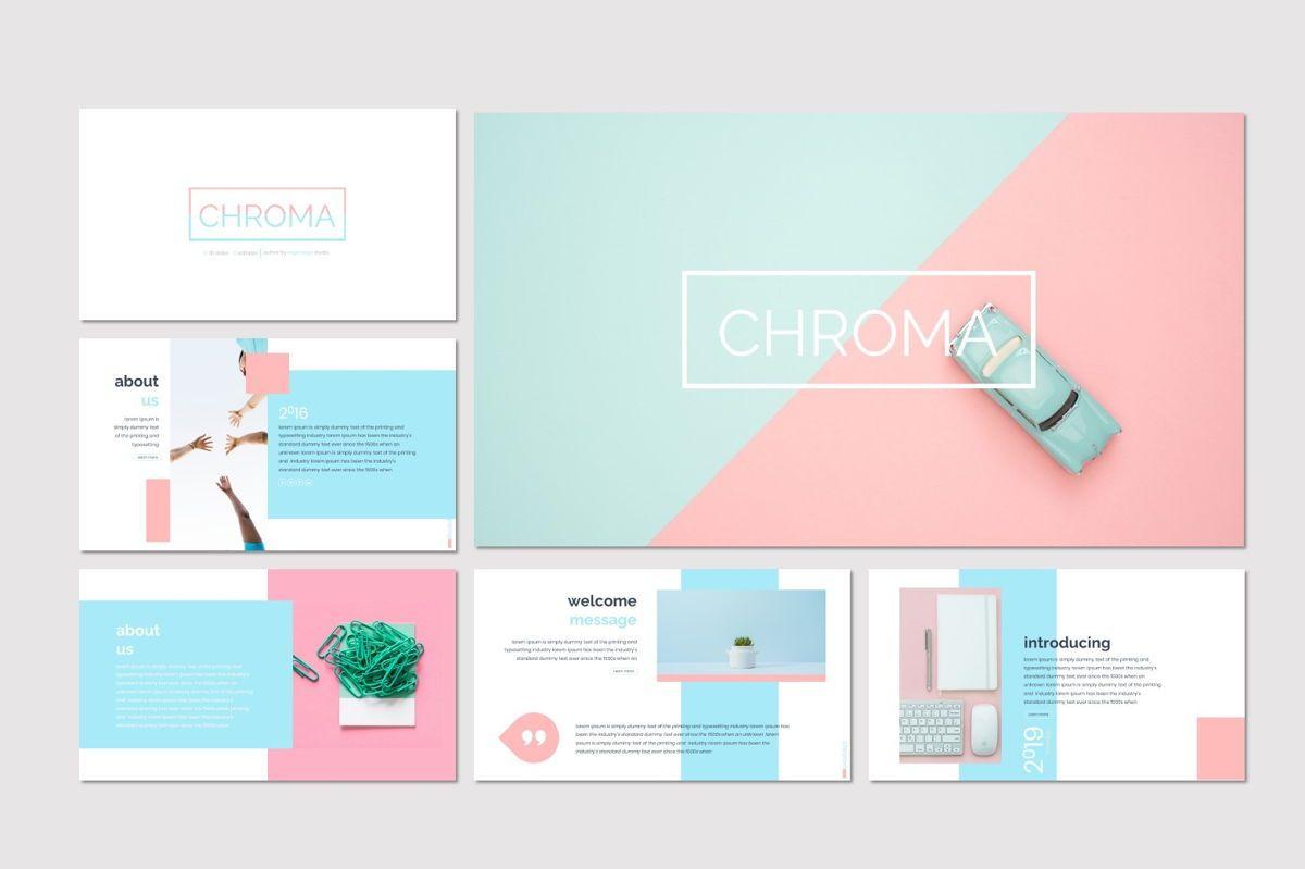 Chroma - Keynote Template, Slide 2, 06928, Presentation Templates — PoweredTemplate.com