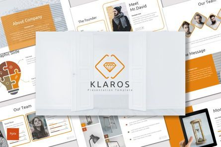 Presentation Templates: Klaros - PowerPoint Template #06932