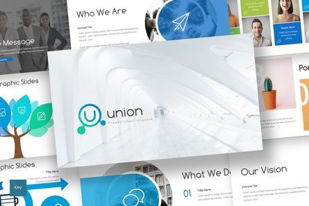 Presentation Templates: Union - Keynote Template #06934