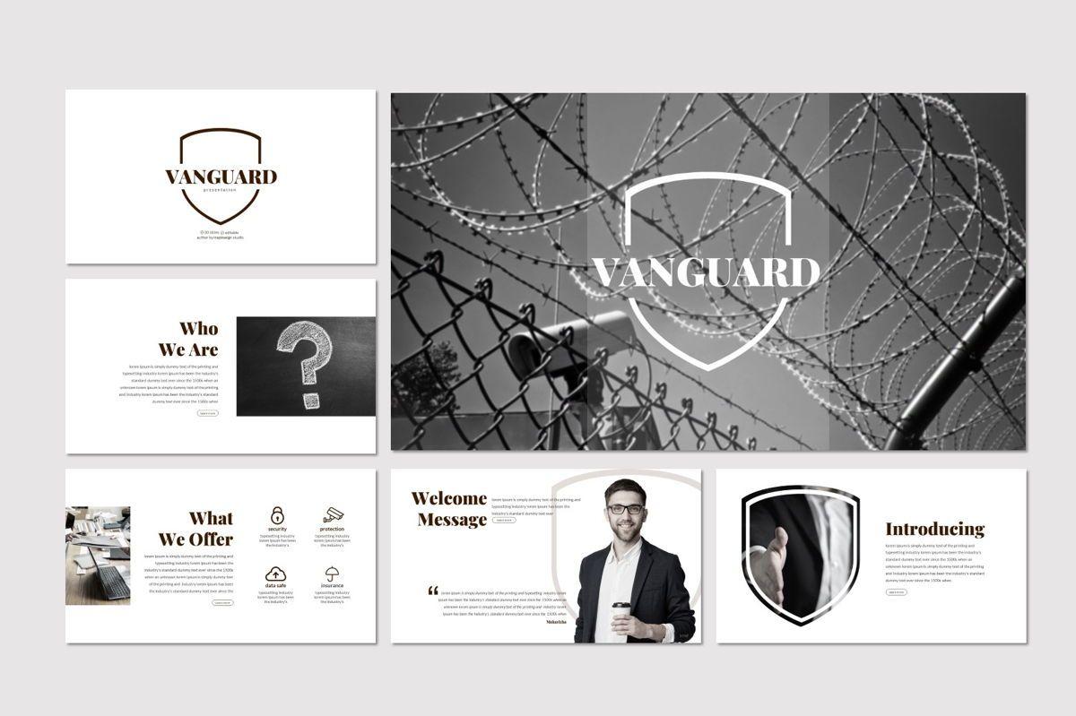 Vanguard - Powerpoint Template, Slide 2, 06936, Presentation Templates — PoweredTemplate.com