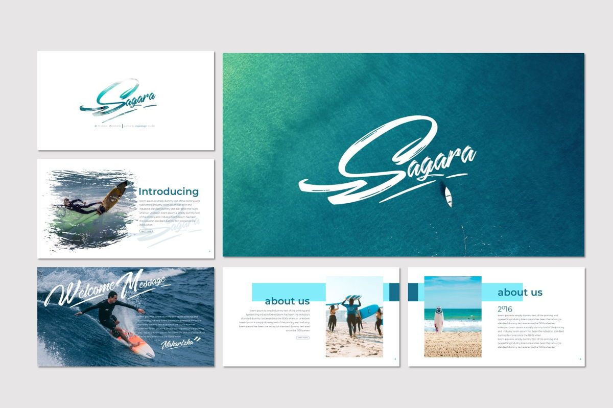 Sagara - Keynote Template, Slide 2, 06937, Presentation Templates — PoweredTemplate.com