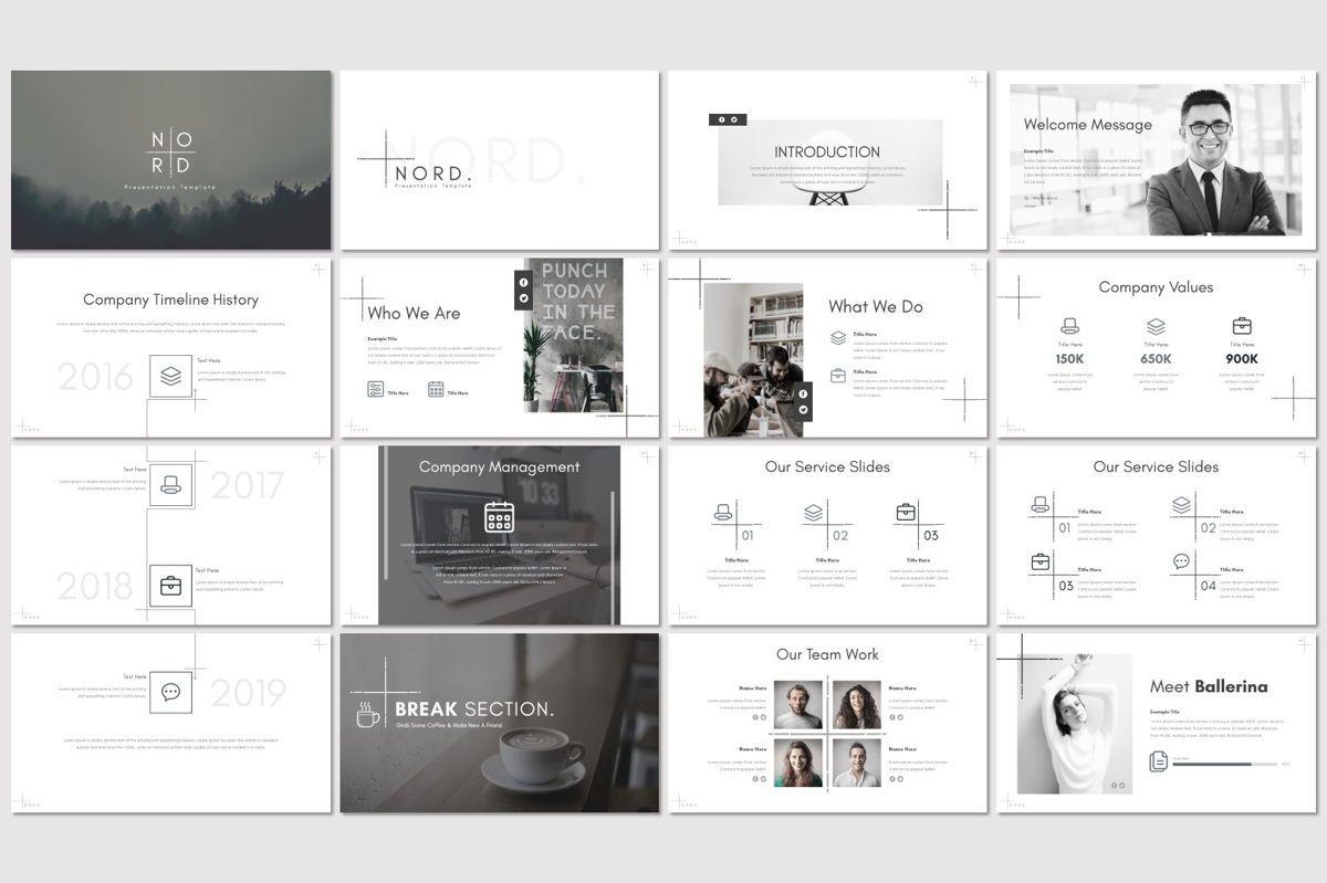 Nord - Google Slides Template, Slide 2, 06939, Presentation Templates — PoweredTemplate.com