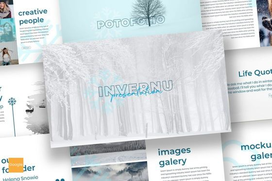 Presentation Templates: Invernu - Google Slides Template #06940