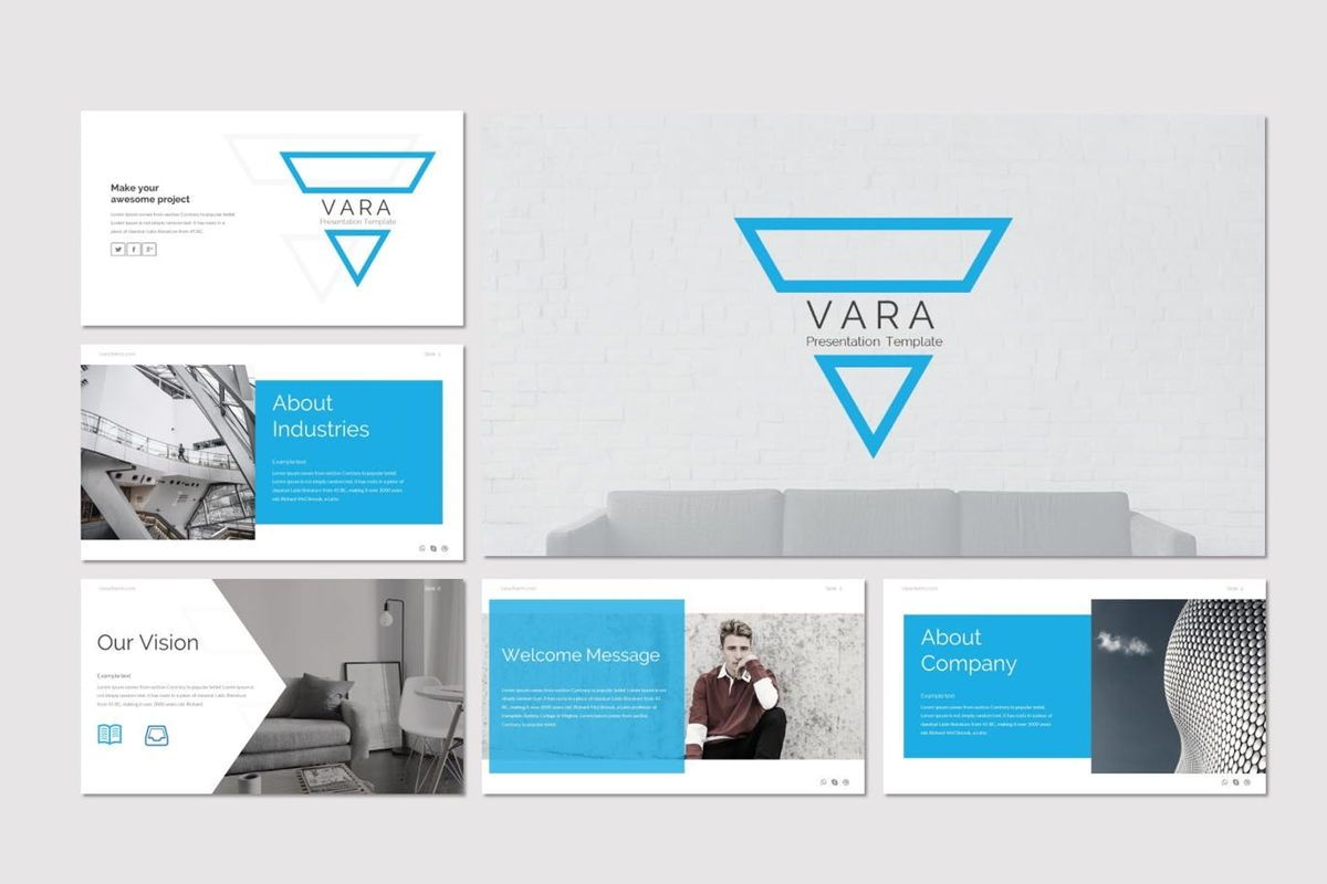 Vara - Google Slides Template, Slide 2, 06941, Presentation Templates — PoweredTemplate.com