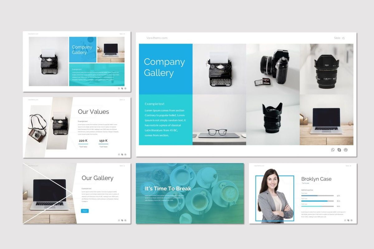 Vara - Google Slides Template, Slide 4, 06941, Presentation Templates — PoweredTemplate.com