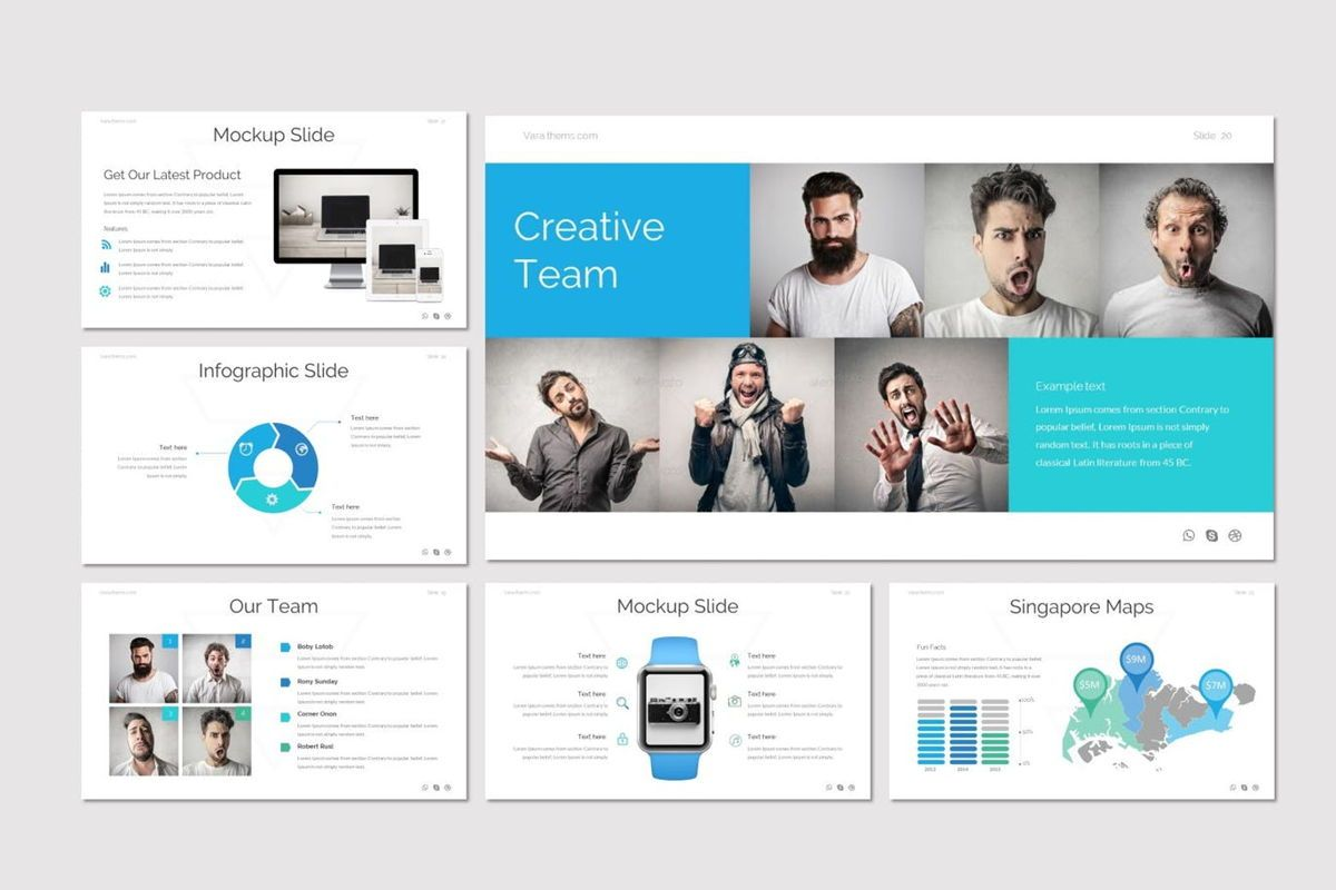 Vara - Google Slides Template, Slide 5, 06941, Presentation Templates — PoweredTemplate.com