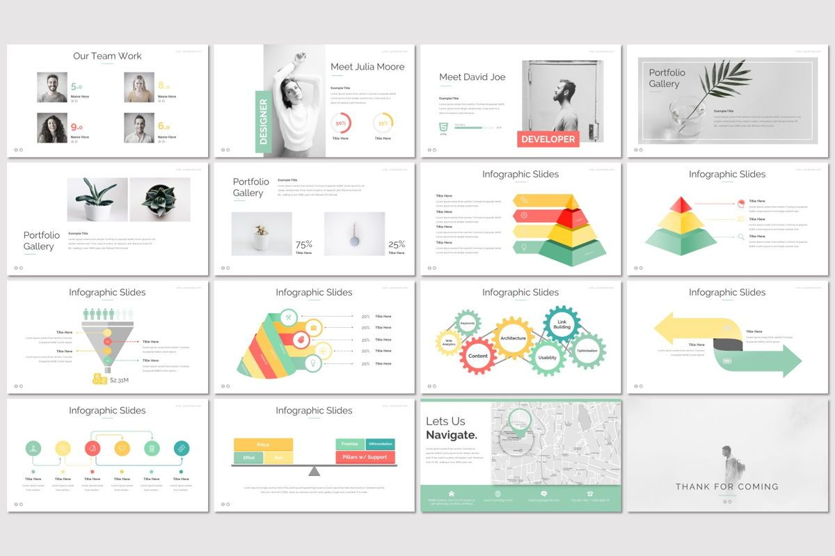 Eden - PowerPoint Template, Slide 3, 06942, Presentation Templates — PoweredTemplate.com