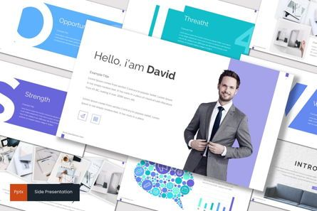 Presentation Templates: Side - PowerPoint Template #06946