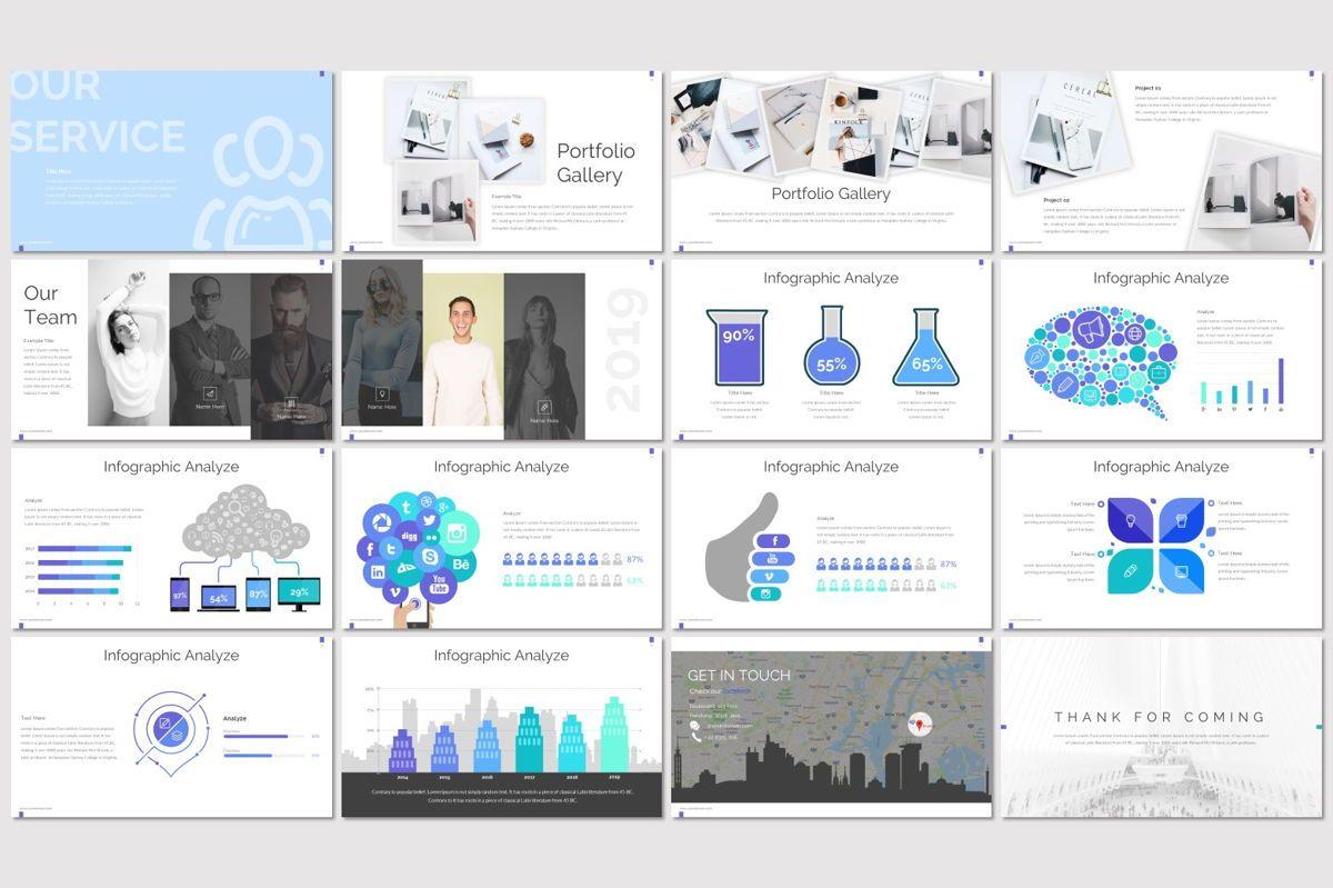 Side - PowerPoint Template, Slide 3, 06946, Presentation Templates — PoweredTemplate.com