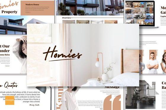 Presentation Templates: Homies - Google Slides Template #06947