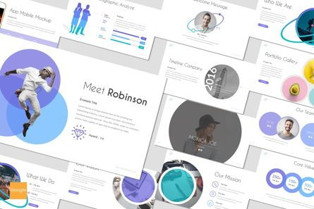 Presentation Templates: Orbit - Google Slides Template #06951