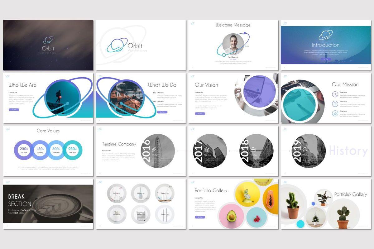 Orbit - Google Slides Template, Slide 2, 06951, Presentation Templates — PoweredTemplate.com