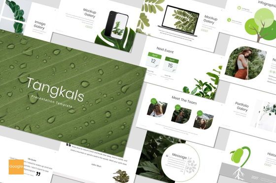 Presentation Templates: Tangkals - Google Slides Template #06952
