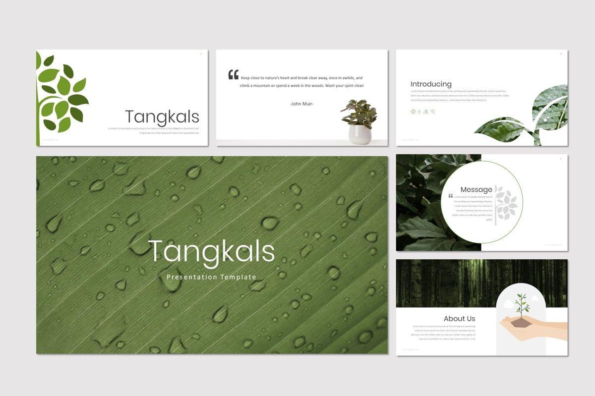 Tangkals - Google Slides Template, Slide 2, 06952, Presentation Templates — PoweredTemplate.com