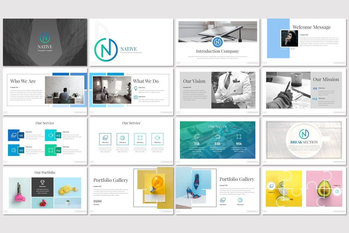 Native - Keynote Template, Slide 2, 06953, Presentation Templates — PoweredTemplate.com