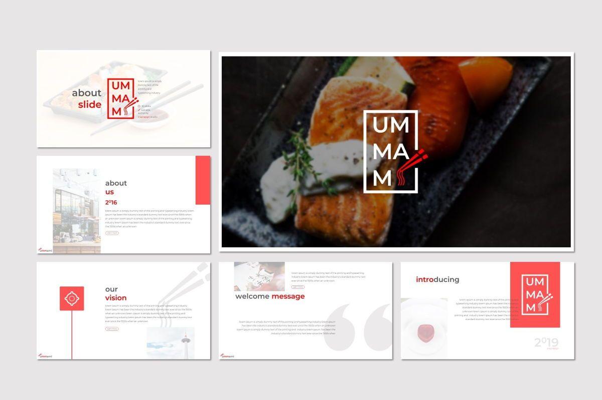 Ummami - Google Slides Template, Slide 2, 06954, Presentation Templates — PoweredTemplate.com
