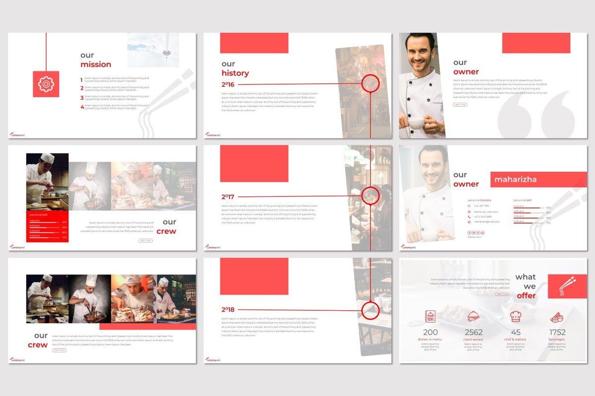 Ummami - Google Slides Template, Slide 3, 06954, Presentation Templates — PoweredTemplate.com