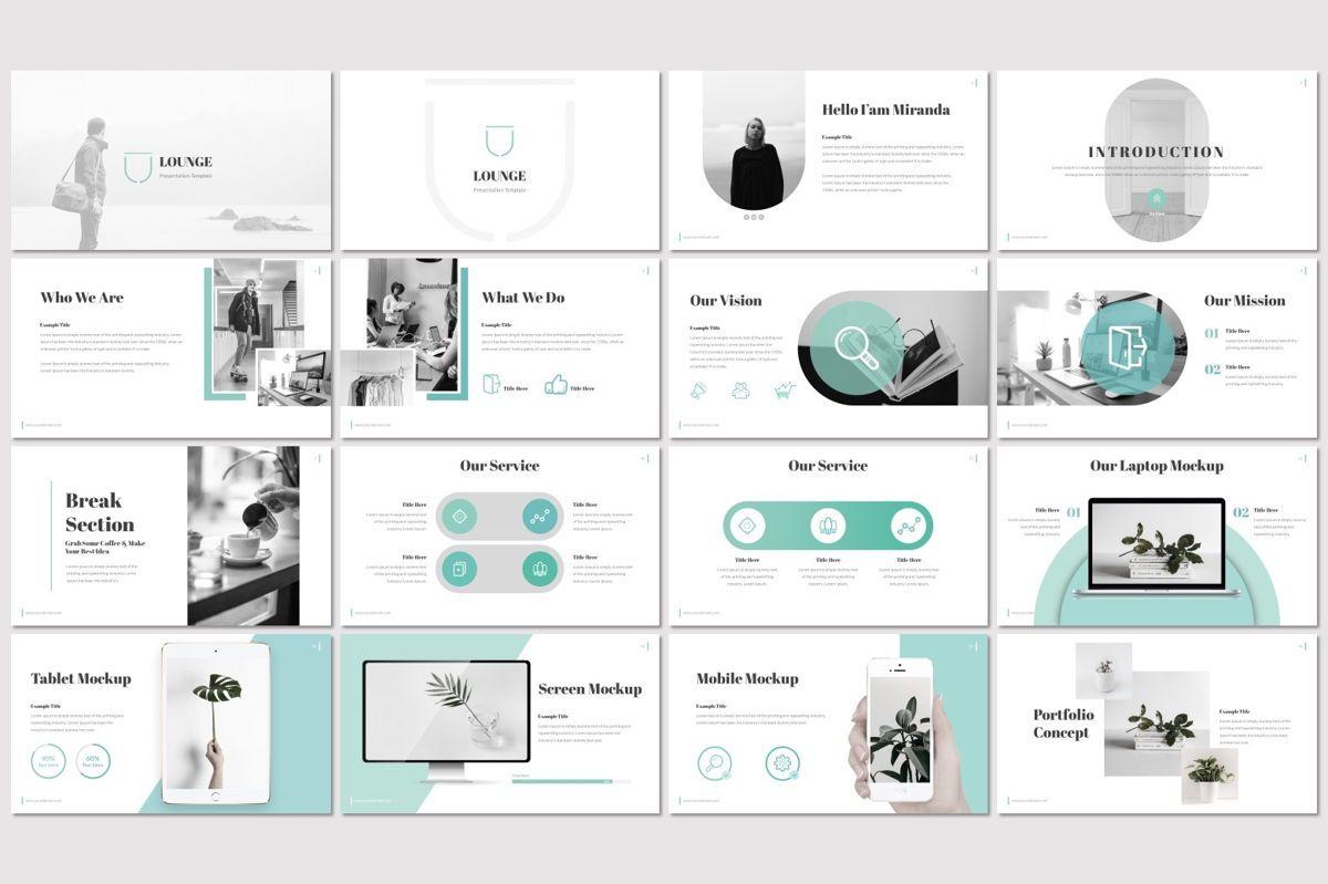 Lounge - Google Slides Template, Slide 2, 06955, Presentation Templates — PoweredTemplate.com