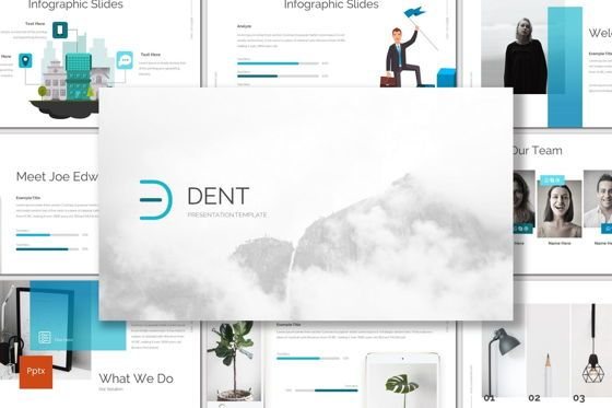 Presentation Templates: Dent - Powerpoint Template #06956