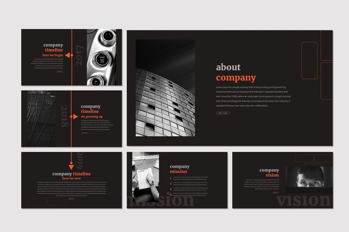 Mauer - Google Slides Template, Slide 3, 06960, Presentation Templates — PoweredTemplate.com