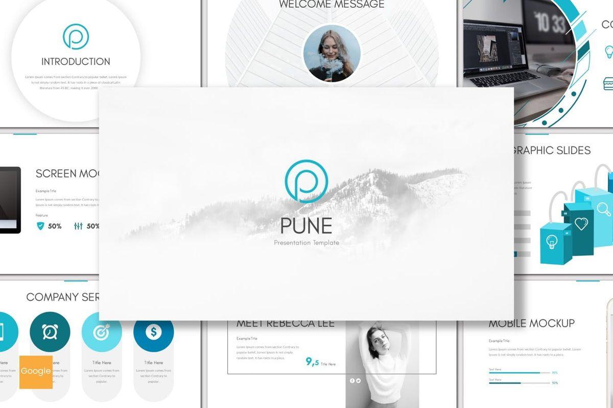 Pune - Google Slides Template, 06963, Presentation Templates — PoweredTemplate.com
