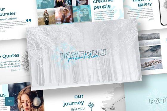 Presentation Templates: Invernu - Keynote Template #06964